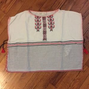 Like new Zara boho chic Mexican Huipil tunic T5